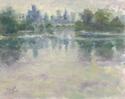 Detroit Skyline Reflected (thumbnail)