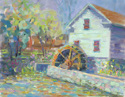 Greenfield Village Water Wheel (thumbnail)