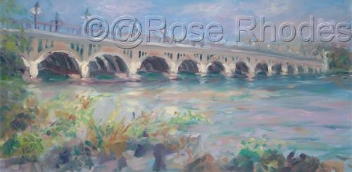 Belle Isle Bridge - Morning Light (thumbnail)