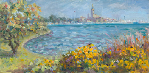 GP Yacht Club with Black-Eyed Susans (thumbnail)