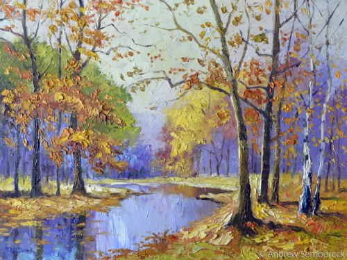 autumn by the river