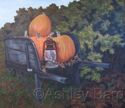 Harvest Pumpkins by Ashley Bard