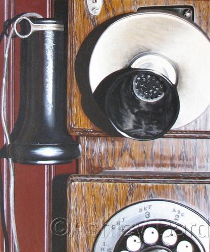 Bell System Americana Edition Circa 1882 by Ashley Bard