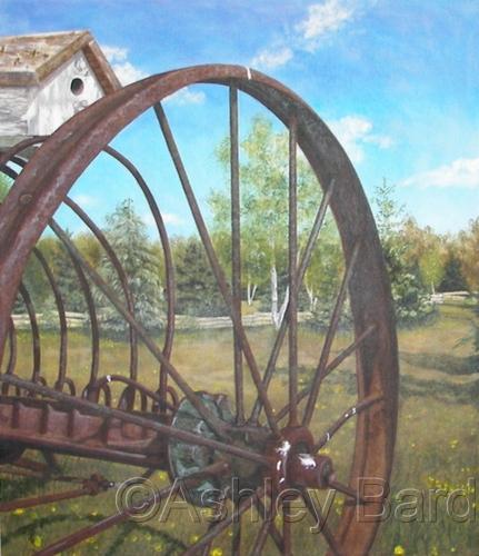 Rake Wheel by Ashley Bard