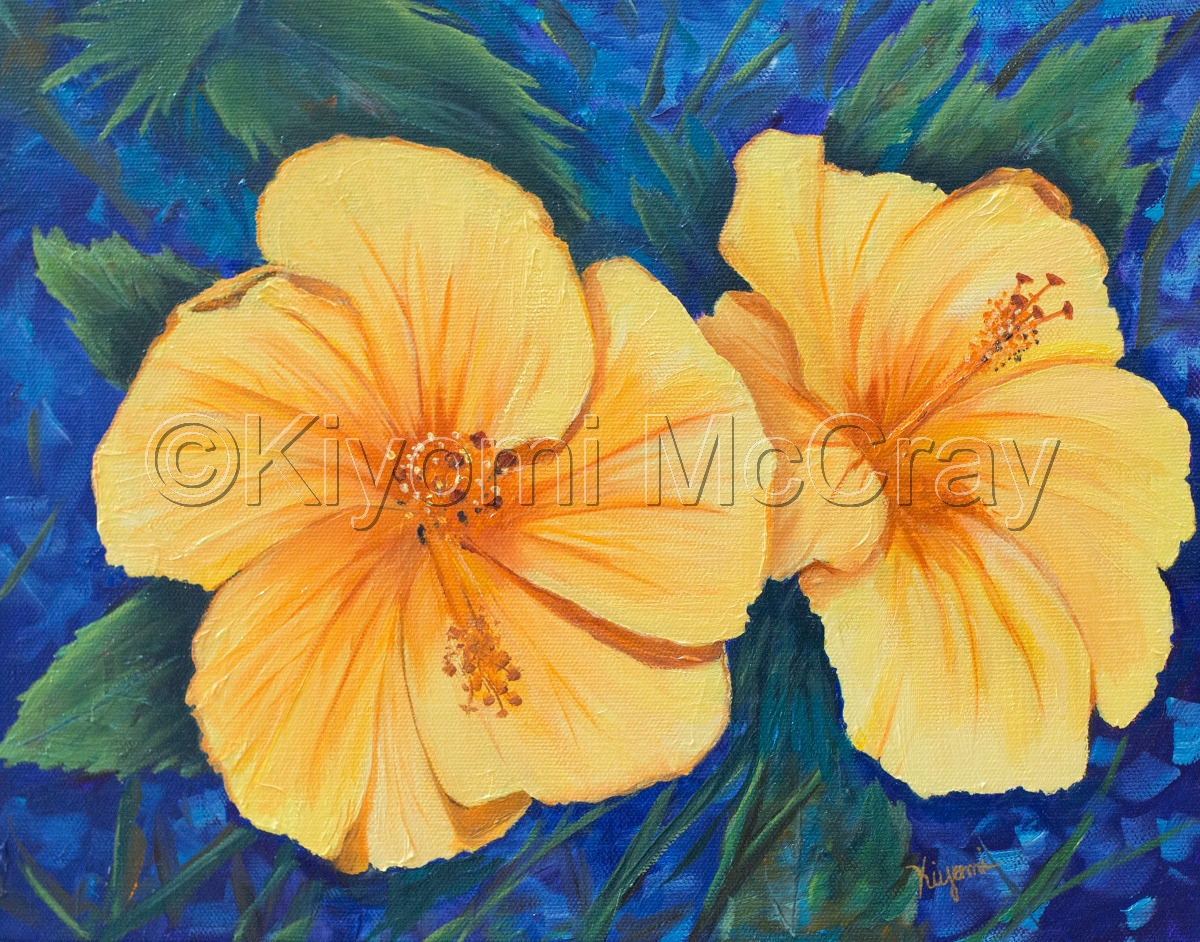 Yellow Hibiscus (large view)