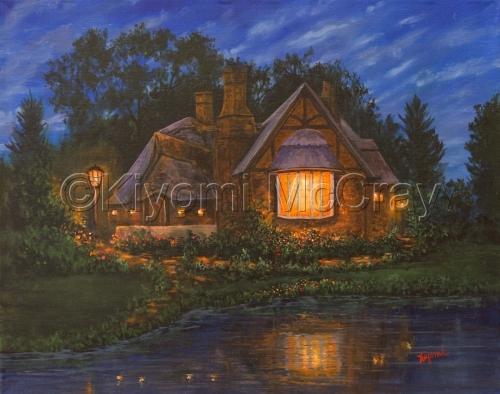 Peaceful Glow by Kiyomi McCray