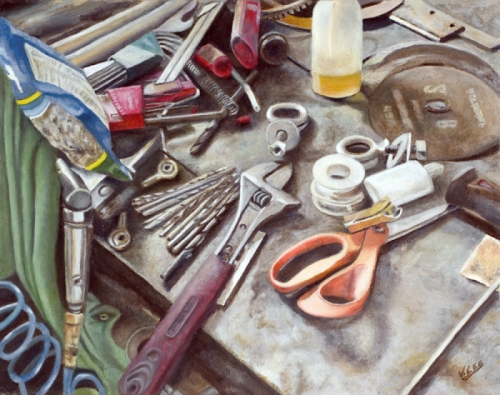 The Workbench by Vicki Lee