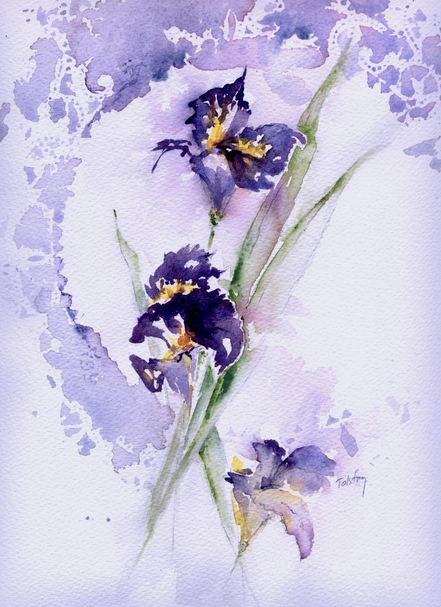 Irises (large view)
