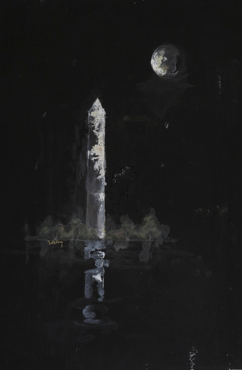 Monument in Moonlight (large view)