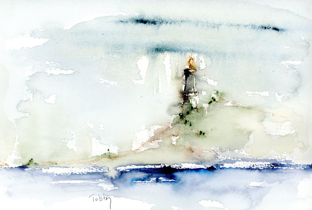 Lighthouse by the Sea (large view)