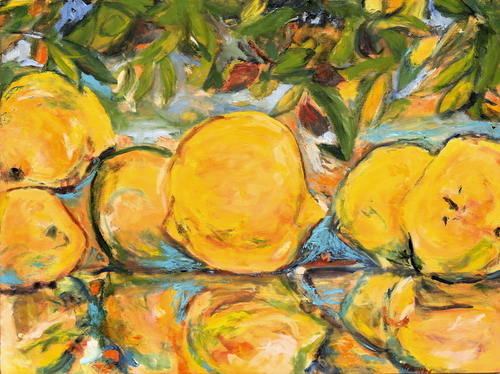 Alpine Lemons by Anne Therese Pelikan
