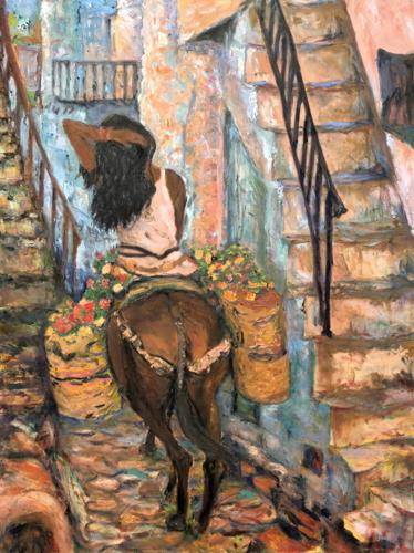 Siesta by Anne Therese Pelikan