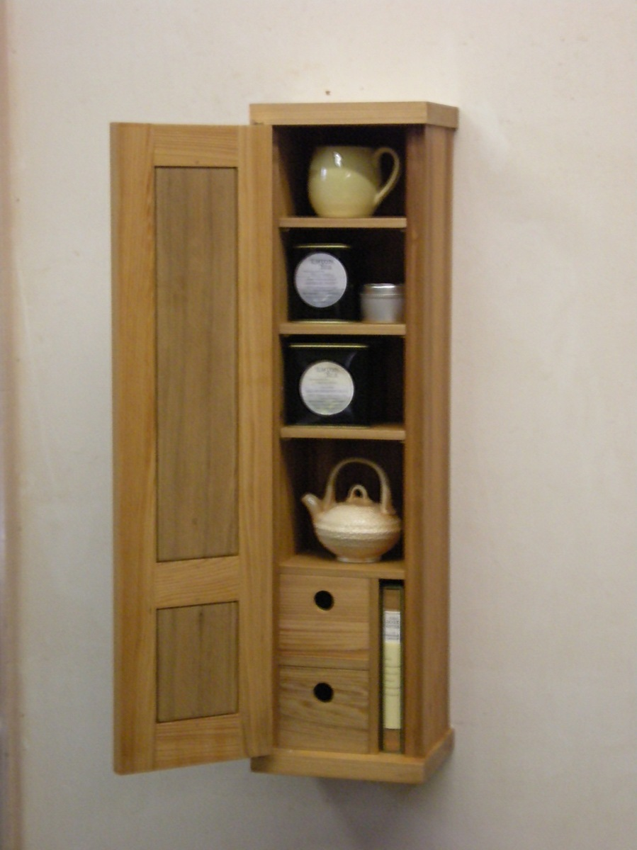 Tea cabinet, open (large view)