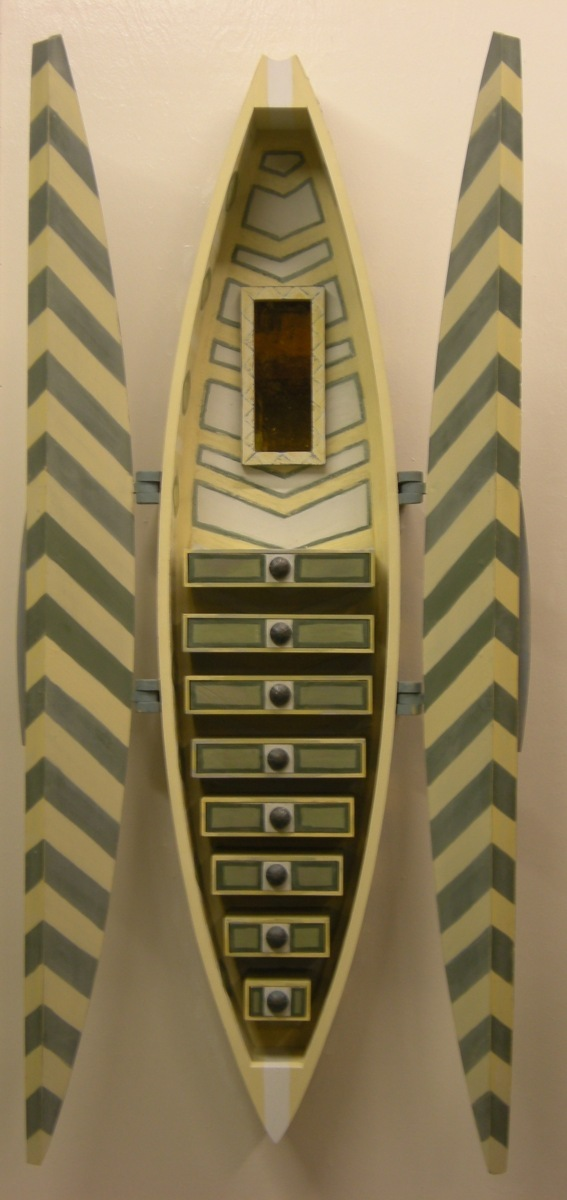 Reliquary, geometric (open), 2010 (large view)