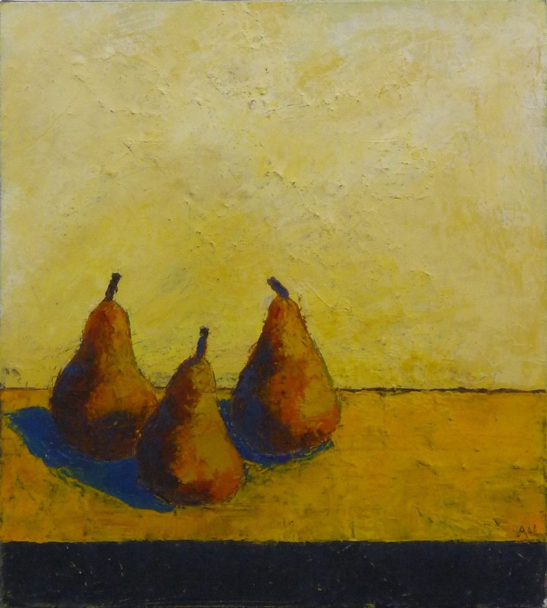 Three pears (large view)