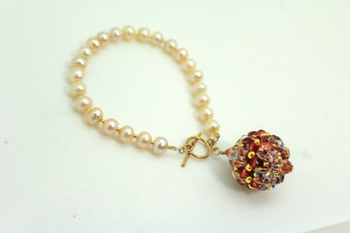 Freshwater Pearl Bracelet by Attitude by Austin