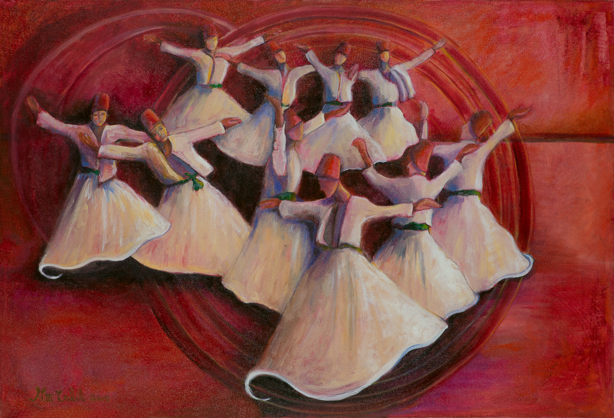 whirling Dervish dance (large view)