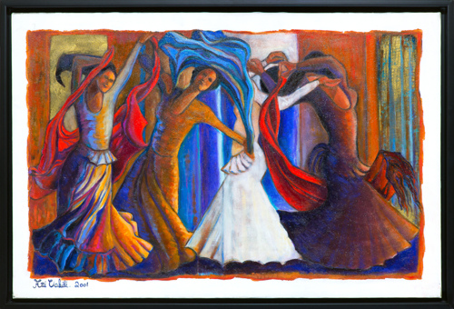 Dance with Scarves by Atti Vakili