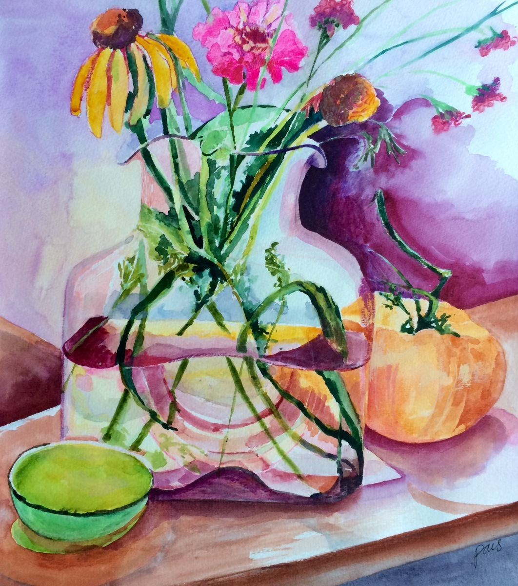 Painting Quot Still Life With Tomato Quot Original Art By Annie