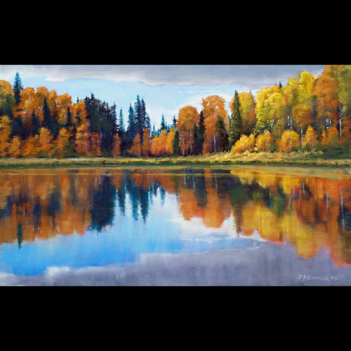 High Country Autumn by Barbara Kendrick's Studio