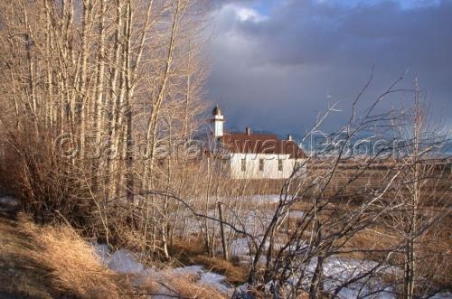 McAllister Church by Barbara Swan Roger