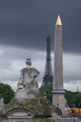 Place de la Concorde by Barbara Swan Roger