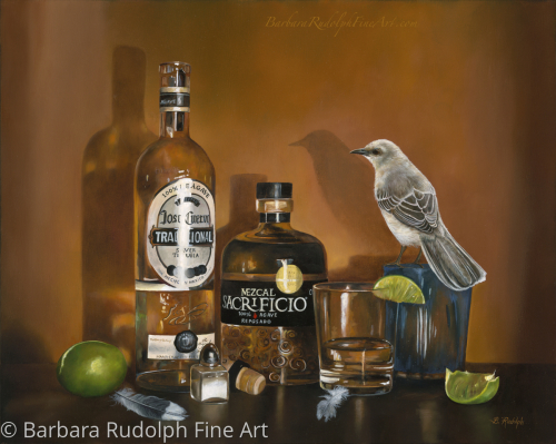 """Tequila Mockingbird"" by Barbara Rudolph Fine Art"