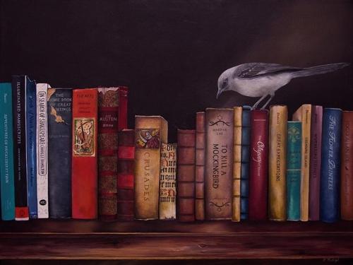 To Kill A Mockingbird by Barbara Rudolph Fine Art