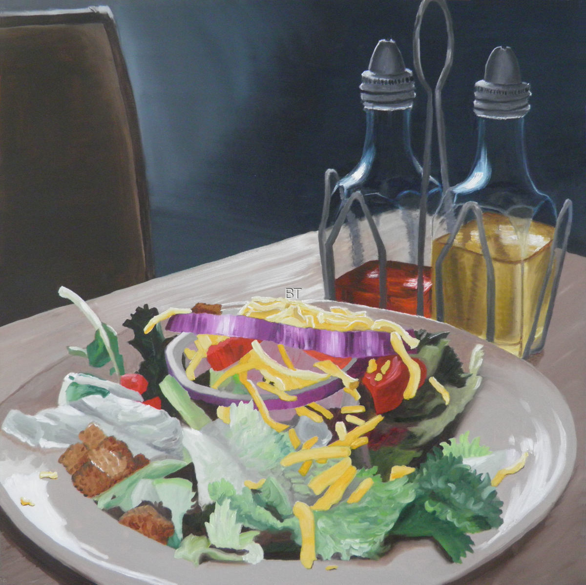 Oil & Vinegar Salad (large view)