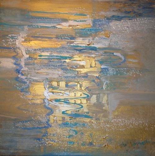 Golden Reflections.24.00x24.00