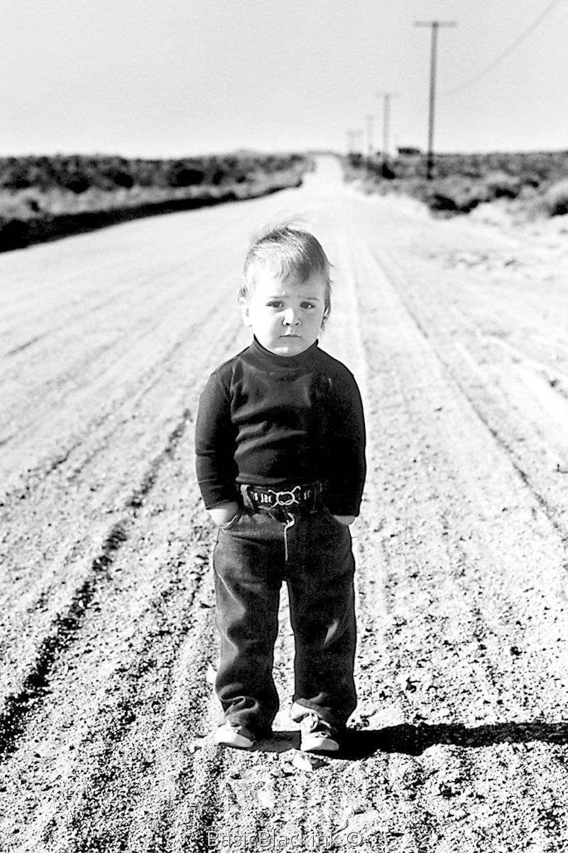 Boy on Road (large view)