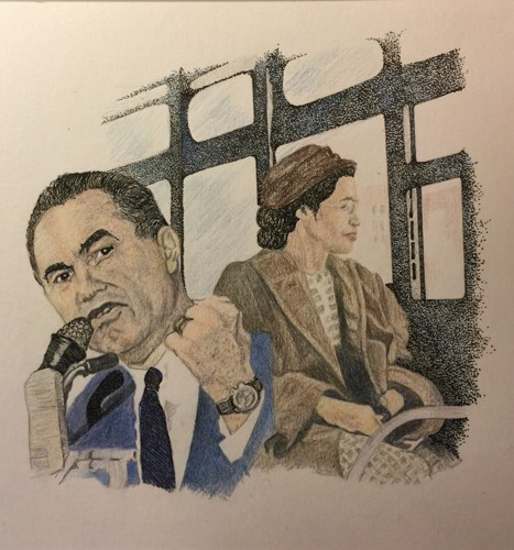 George Wallace & Rosa Parks