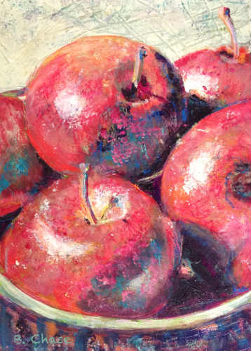 """Note Card - """"Apples"""" by Barbara Chase"""