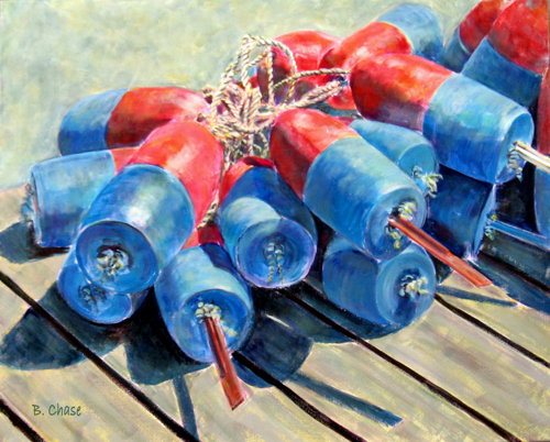 Blue and Red Buoys (Buoy Series #2) by Barbara Chase