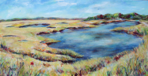 Scarborough Marsh #2 by Barbara Chase