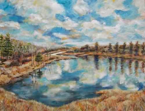 Northeast Creek at Mt. Desert Island #2 by Barbara Chase