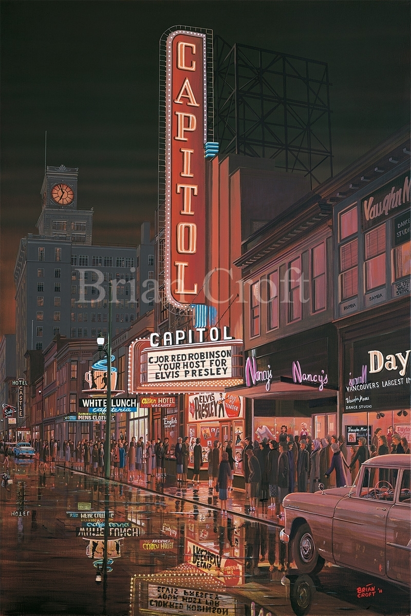 Capitol Theatre, Granville S. - 1956; Love me Tender (large view)