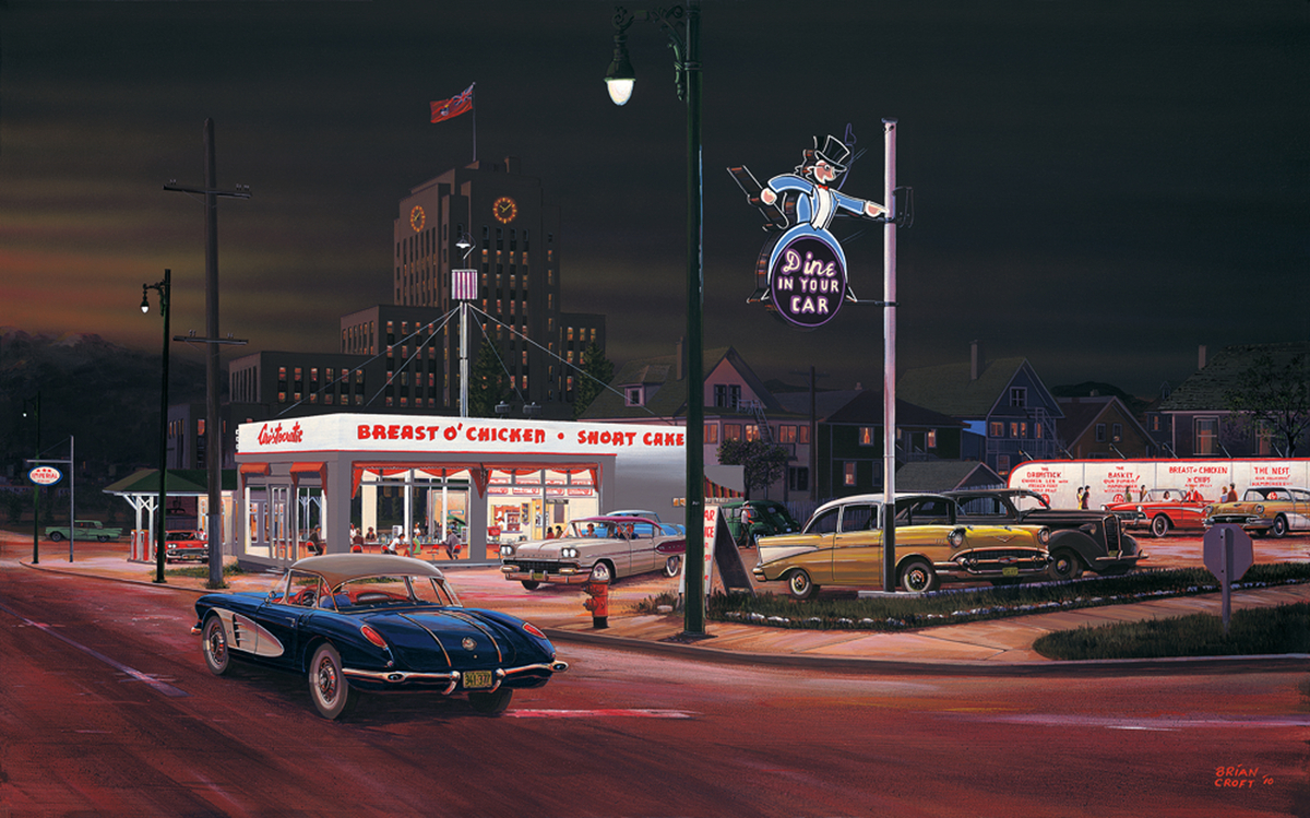 Aristocratic Drive-in - 1958 (large view)