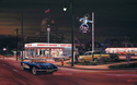 Painting--CityscapeAristocratic Drive-in - 1958