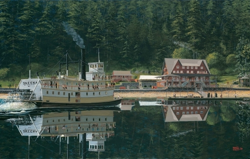 Wigwam Inn, Indian Arm - 1913 (large view)