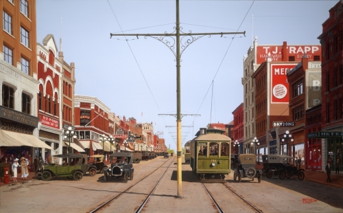 Columbia Street - New Westminster - 1924 (large view)