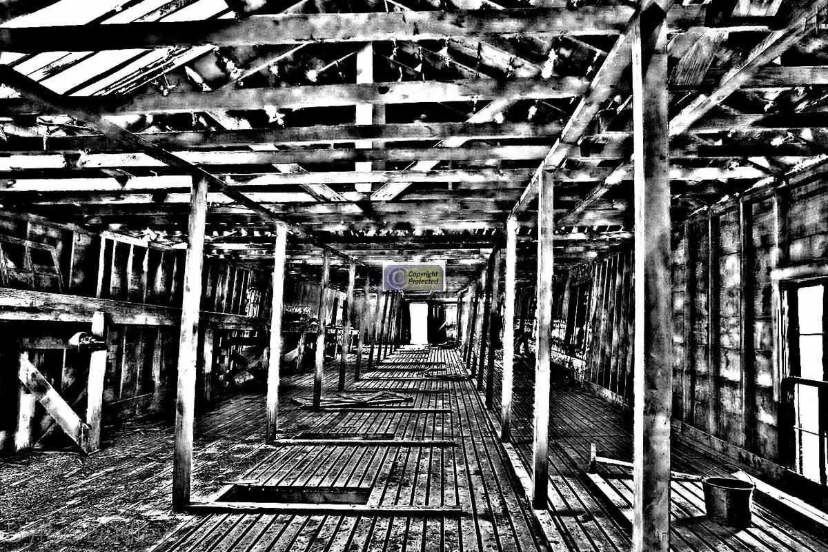 Slaughterhouse Hallway #1 (large view)