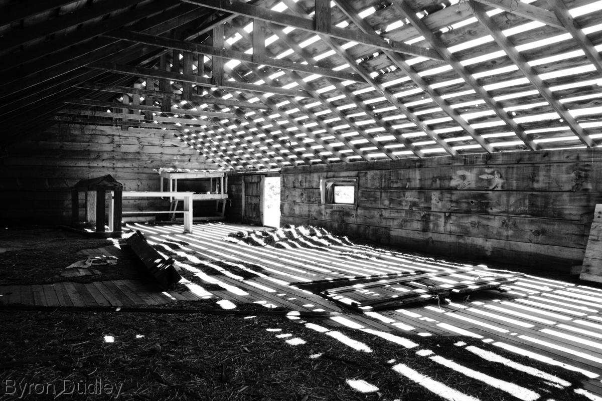 Slaughterhouse attic #3 (large view)