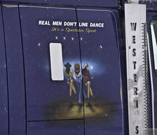 Real Men Don't Line Dance (large view)