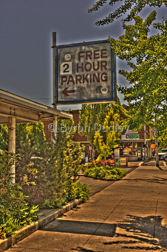 Free 2 hr parking (large view)