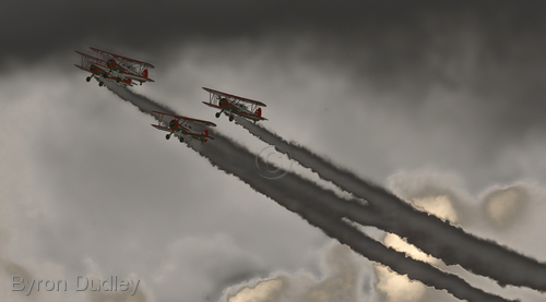 Biplanes # 2 (large view)