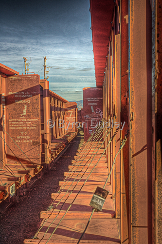 Idle railcars  (large view)