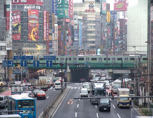 Shinjiku Rush Hour (large view)