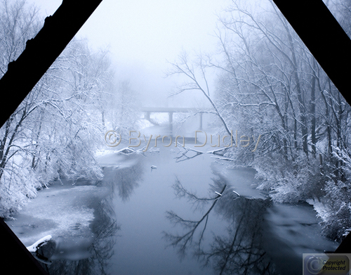 Hennepin Canal Train Trestle by Byron Dudley Photography