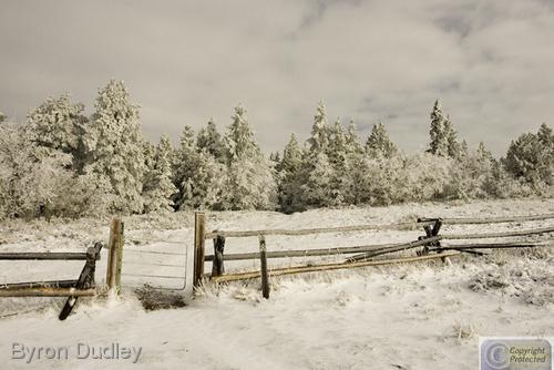 Mount Sherman first snowfall #6 (large view)